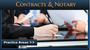 Contracts and Notary